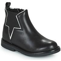 Pantofi Fete Ghete Citrouille et Compagnie PRATO Negru