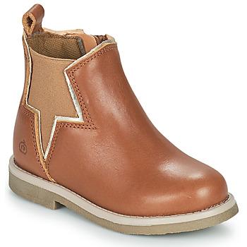 Pantofi Fete Ghete Citrouille et Compagnie PRATO Camel