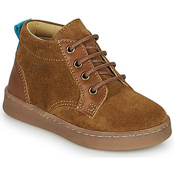 Pantofi Băieți Pantofi sport stil gheata Citrouille et Compagnie PACELLE Camel