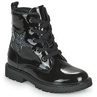 Pantofi Fete Ghete Citrouille et Compagnie PICOTI Negru