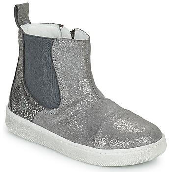 Pantofi Fete Ghete Citrouille et Compagnie PIMANE Gri