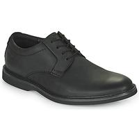 Pantofi Bărbați Pantofi Derby Clarks ATTICUS LTLACE Negru