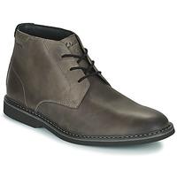 Pantofi Bărbați Ghete Clarks ATTICUSLT MID Gri