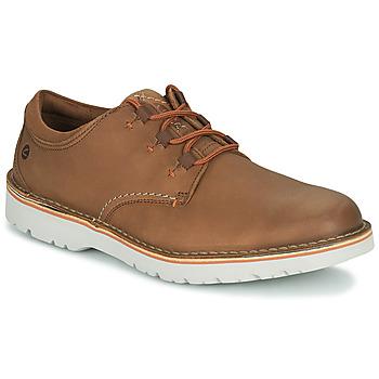 Pantofi Bărbați Pantofi Derby Clarks EASTFORD LOW Camel