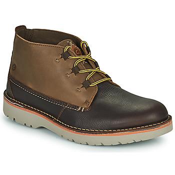 Pantofi Bărbați Ghete Clarks EASTFORD MID Maro