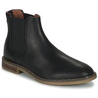 Pantofi Bărbați Ghete Clarks JAXEN CHELSEA Negru