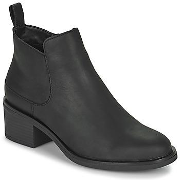 Pantofi Femei Botine Clarks MEMI ZIP Negru