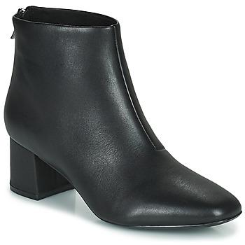 Pantofi Femei Botine Clarks SHEER55 ZIP Negru
