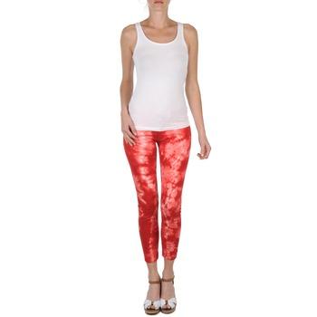 Îmbracaminte Femei Pantaloni trei sferturi Eleven Paris DAISY Roșu / Alb