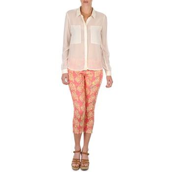Îmbracaminte Femei Pantaloni trei sferturi Manoush PANTALON GIPSY JEANS Roz