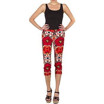 Îmbracaminte Femei Pantaloni trei sferturi Manoush PANTALON POPPY Roșu