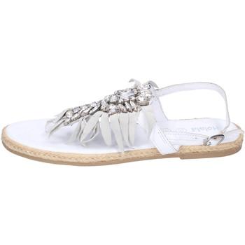 Pantofi Fete Sandale  Holalà BH20 Alb