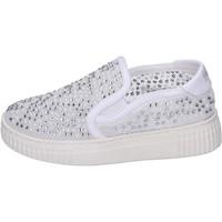 Pantofi Fete Pantofi Slip on Holalà BH22 Alb