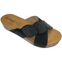 Pantofi Femei Papuci de vară De Fonseca DEFONCERVIAner nero
