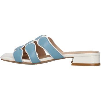 Pantofi Femei Papuci de vară Luciano Barachini GL292O WHITE