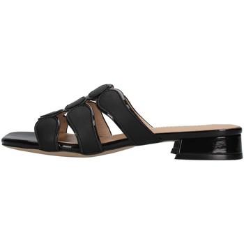 Pantofi Femei Papuci de vară Luciano Barachini GL292A BLACK