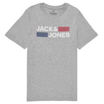 Îmbracaminte Băieți Tricouri mânecă scurtă Jack & Jones JJECORP LOGO TEE SS Gri