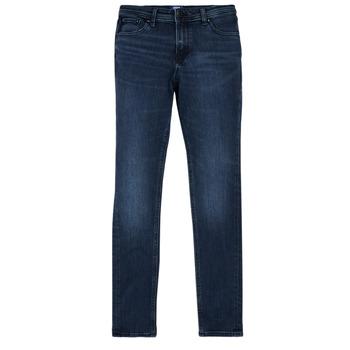 Îmbracaminte Băieți Jeans slim Jack & Jones JJILIAM Albastru / Culoare închisă
