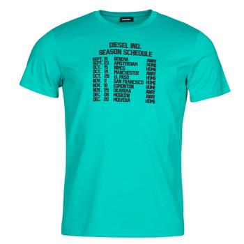 Îmbracaminte Bărbați Tricouri mânecă scurtă Diesel T-DIEGOS Albastru