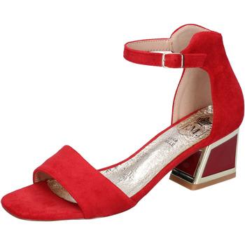 Pantofi Femei Sandale  Francescomilano BH35 roșu