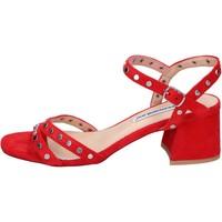 Pantofi Femei Sandale  Francescomilano BH38 roșu