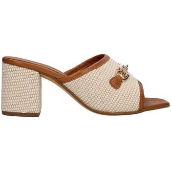 Pantofi Femei Papuci de vară Paola Ferri D7431 BEIGE