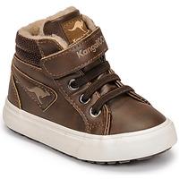 Pantofi Băieți Pantofi sport stil gheata Kangaroos KAVU III Maro