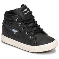 Pantofi Băieți Pantofi sport stil gheata Kangaroos KAVU I Negru