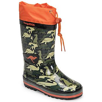Pantofi Băieți Cizme de cauciuc Kangaroos K-RAIN Kaki