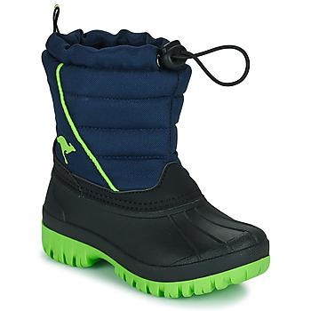 Pantofi Băieți Cizme de zapadă Kangaroos K-BEN Albastru / Verde