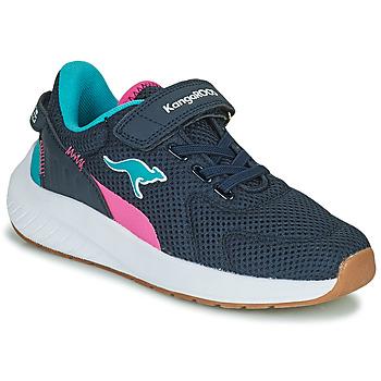 Pantofi Fete Pantofi sport Casual Kangaroos K-FORT JAG EV Albastru