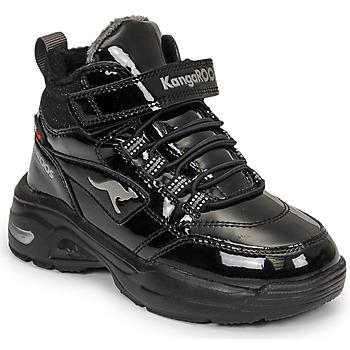 Pantofi Fete Pantofi sport stil gheata Kangaroos KC-ICY EV RTX Negru