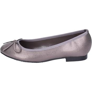 Pantofi Femei Balerin și Balerini cu curea Francescomilano BH55 Gri
