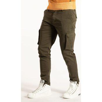 Îmbracaminte Bărbați Pantaloni Cargo Takeshy Kurosawa  verde
