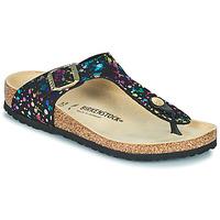 Pantofi Fete  Flip-Flops Birkenstock GIZEH Negru / Multicolor