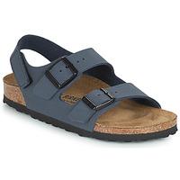 Pantofi Băieți Sandale  Birkenstock MILANO HL Albastru