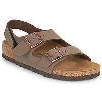 Pantofi Băieți Sandale  Birkenstock MILANO HL Moka