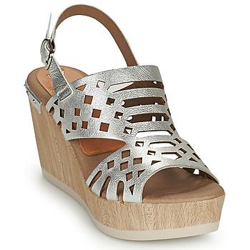 Pantofi Femei Sandale  Dorking SALMA Argintiu