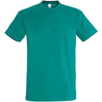 Îmbracaminte Femei Tricouri mânecă scurtă Sols IMPERIAL camiseta color Esmeralda Verde