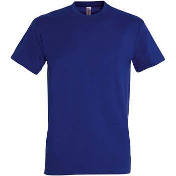 Îmbracaminte Femei Tricouri mânecă scurtă Sols IMPERIAL camiseta color Azul Ultramarino Azul