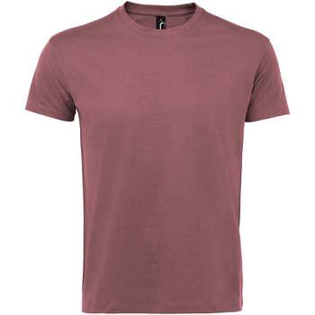 Îmbracaminte Femei Tricouri mânecă scurtă Sols IMPERIAL camiseta color Rosa Antiguo Rosa