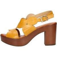 Pantofi Femei Sandale  Made In Italia 023 Yellow
