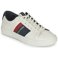 Pantofi Băieți Pantofi sport Casual Jack & Jones MISTRY Alb