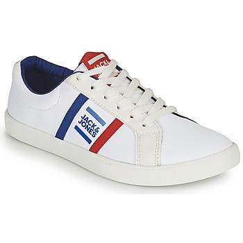 Pantofi Băieți Pantofi sport Casual Jack & Jones WHILEY Alb