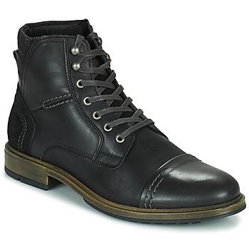 Pantofi Bărbați Ghete Casual Attitude HOKES Negru
