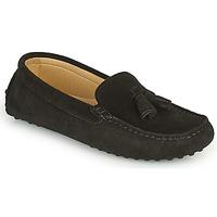 Pantofi Femei Mocasini Casual Attitude GATO Negru