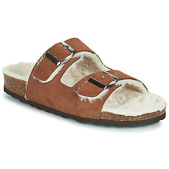 Pantofi Femei Papuci de casă Casual Attitude NEW Maro