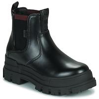 Pantofi Femei Ghete Buffalo ASPHA CHELSEA Negru