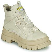 Pantofi Femei Ghete Buffalo ASPHA NC MID Bej