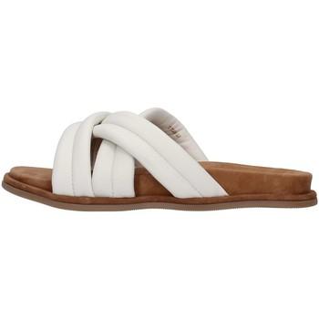 Pantofi Femei Papuci de vară Inuovo 777002 WHITE